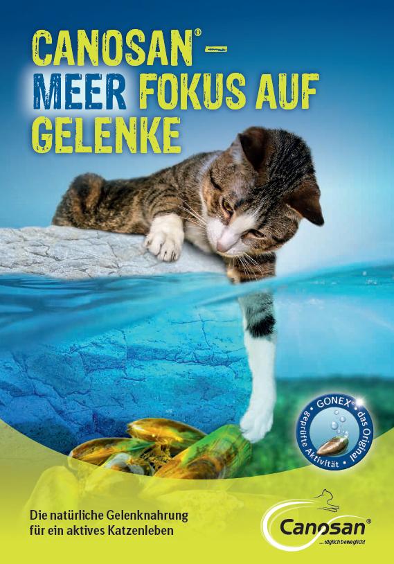 Broschüre zu Canosan® Katze