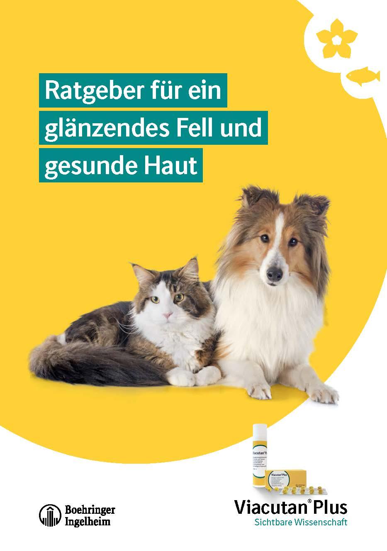 """Tierhalter-Broschüre """"Für ein glänzendes Fell und gesunde Haut"""""""