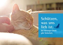 Postkarten Katzenvorsoge