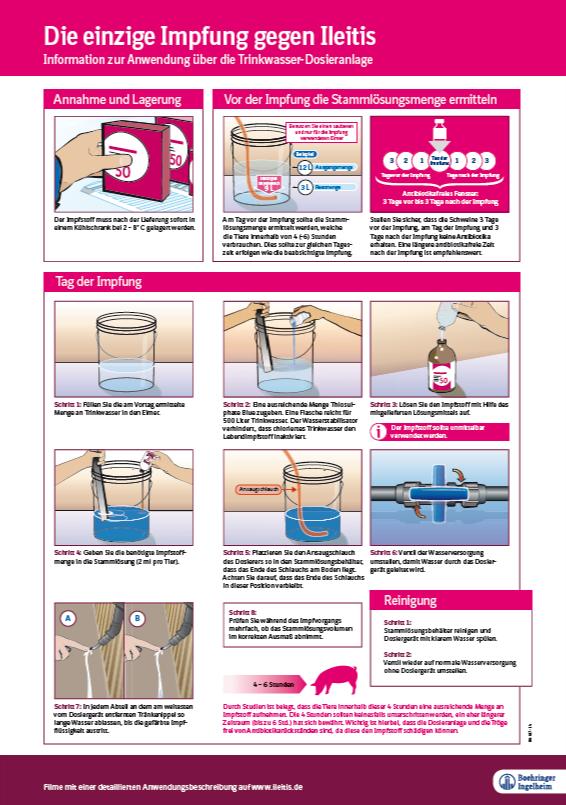 Impfanleitung mit Checkliste