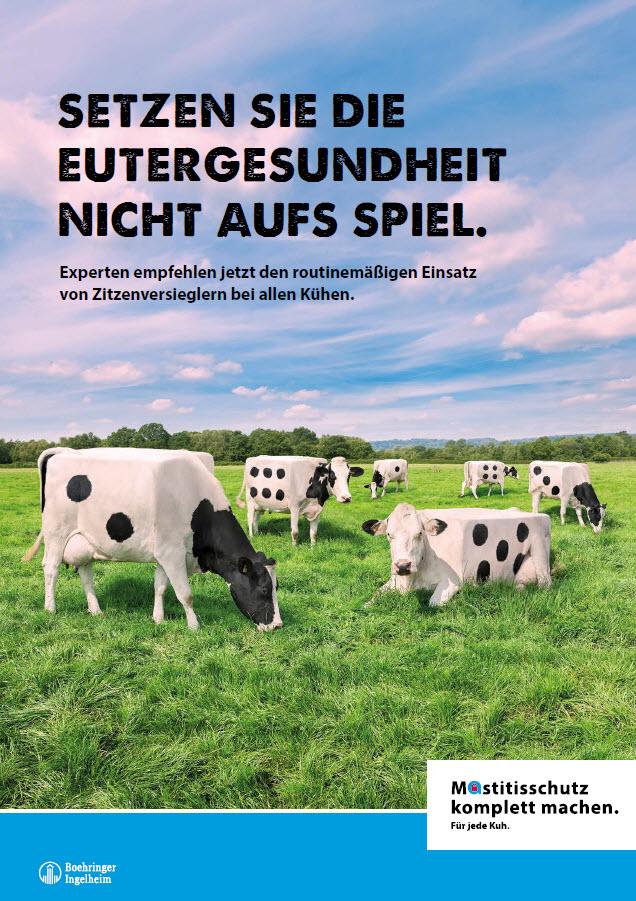 Mastitisschutz komplett machen. Für jede Kuh.