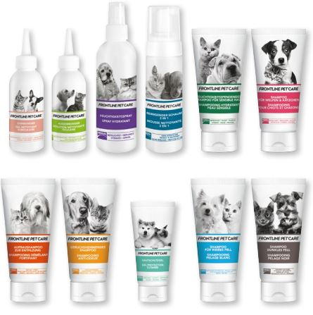 Frontline Pet Care Pflegeprodukte