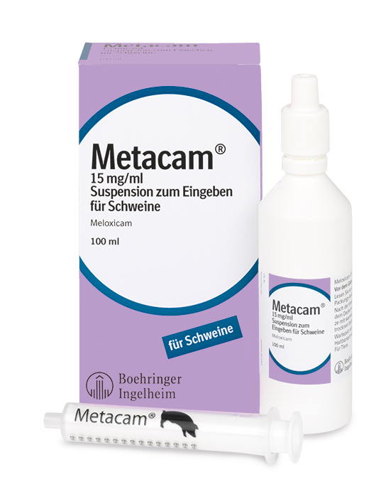 Metacam® 15 mg/ml Suspension für Schweine